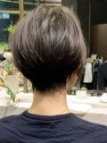 スタイリング簡単/ 大人小顔ショート/30代・40代/吉瀬美智子ヘアスタイル