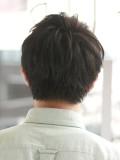 黒髪アジアンショート