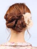 簡単アレンジヘア