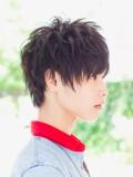 人気読者モデル町山博彦の人気髪型