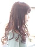 かわいいツヤ髪ロング