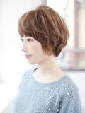 『小顔』になるショートヘア